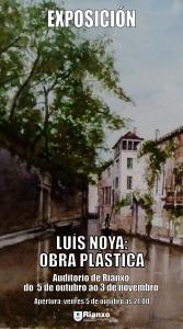 Cartel Expo Luís Noya